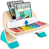 Weihuiwangluo スマートタッチエレクトロニック早期教育メロディリズム木製子供の音楽教育 (Color : Wood-M)
