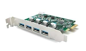 BUFFALO PCI Express x1 用 USB3.0増設インターフェースボード 4端子搭載 IFC-PCIE4U3S