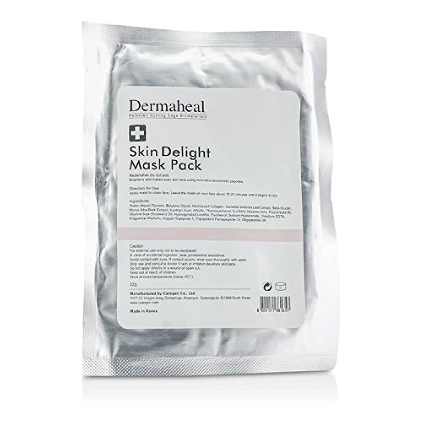 音楽礼儀先住民ダーマヒール Skin Delight Mask Pack 22g/0.7oz並行輸入品