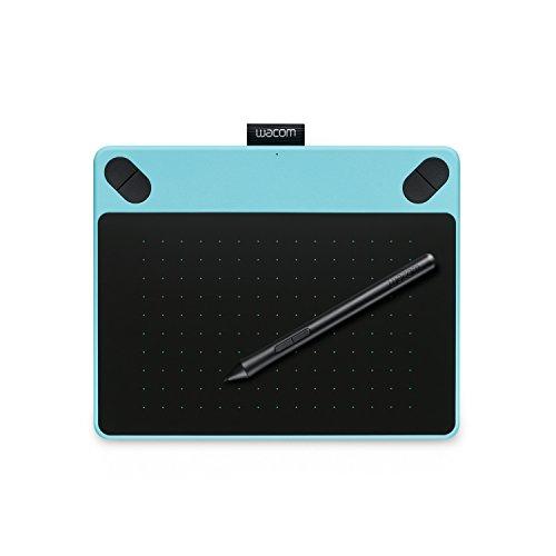 ワコム ペンタブレット Intuos Comic S ペン&タッチ マンガ・イラスト制作用モデル ミントブルー  CTH-490/B1
