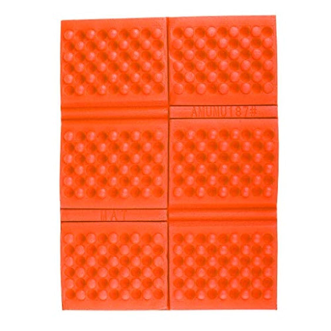知的うなずく家事F Fityle 折り畳み式 シートクッション 日焼け止め フォームパッド 防水 キャンプ ピクニック用 全7色