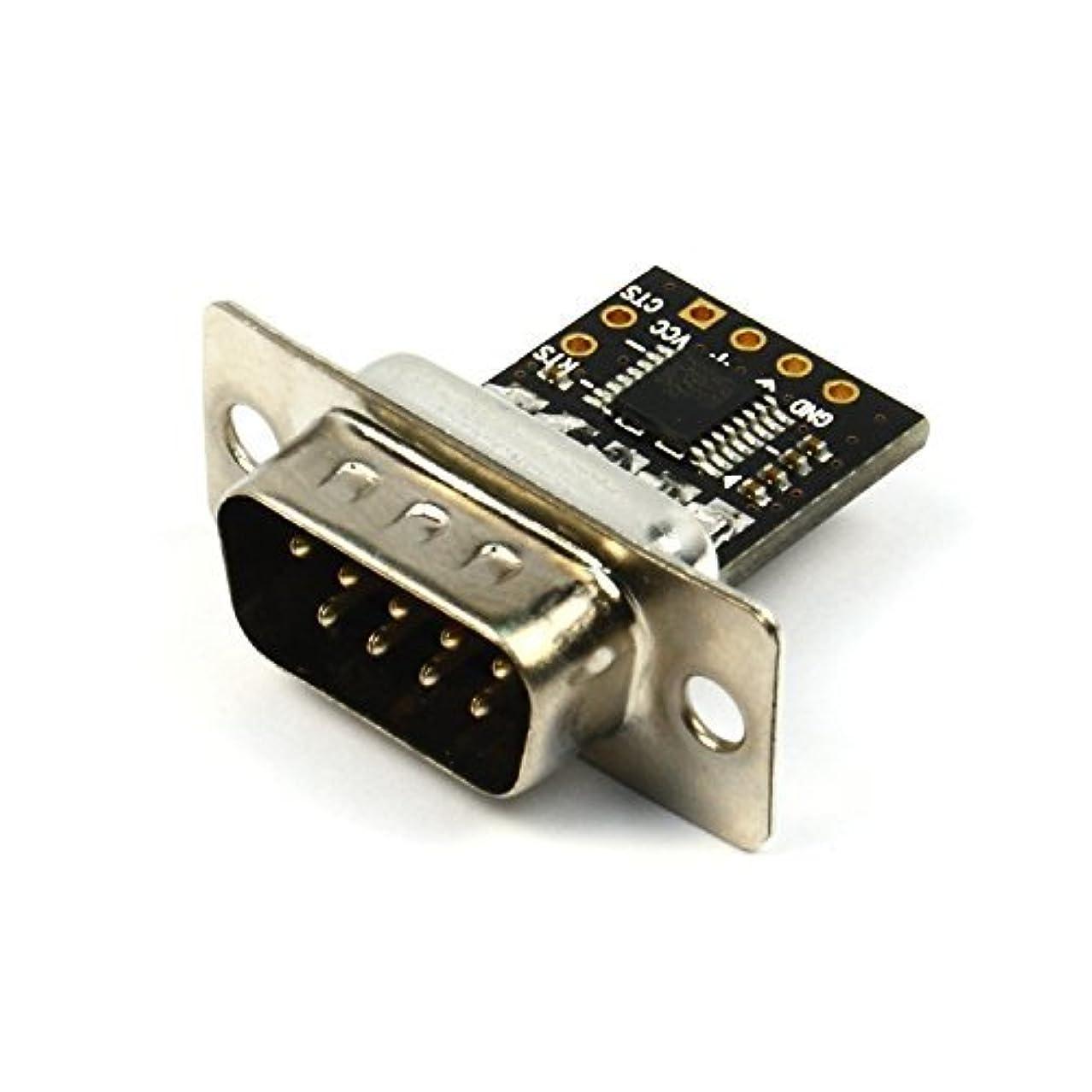 常識何でも副詞Ultra Compact RS232 to TTL Converter with Male DB9 (3V to 5.5V) [並行輸入品]