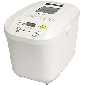 山善(YAMAZEN) ホームベーカリー(1斤/0.5斤選択可能) ホワイト YBA-560(W)