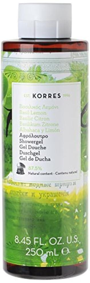 強化海藻特にコレスナチュラルプロダクト バジルレモン シャワージェル