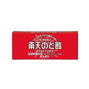 【第3類医薬品】トキワ南天喉飴 6錠×3