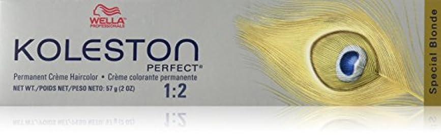 品揃え花婿サリーWella Kolestonパーフェクトヘアカラー、2オンス 81分の12特別なブロンド/パールアッシュ