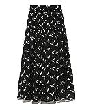 [スナイデル] ジャガードボリュームスカート SWFS212034 レディース NVY 0