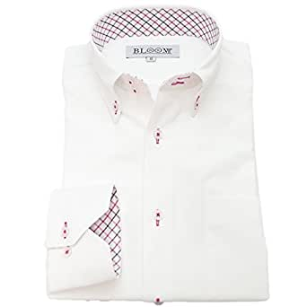 (ブルーム) BLOOM オリジナル 長袖 ワイシャツ 形態安定 7 4L