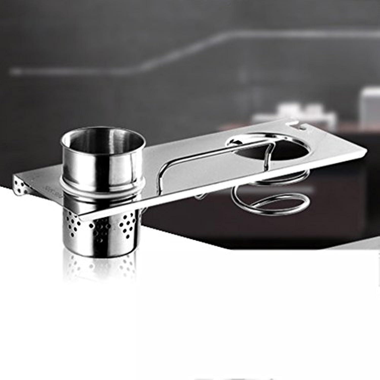 HAIZHEN 浴室用ラック 304ステンレス製マルチファンクションヘアドライヤーウォールマウント インストールが簡単 (サイズ さいず : 50 cm 50 cm)