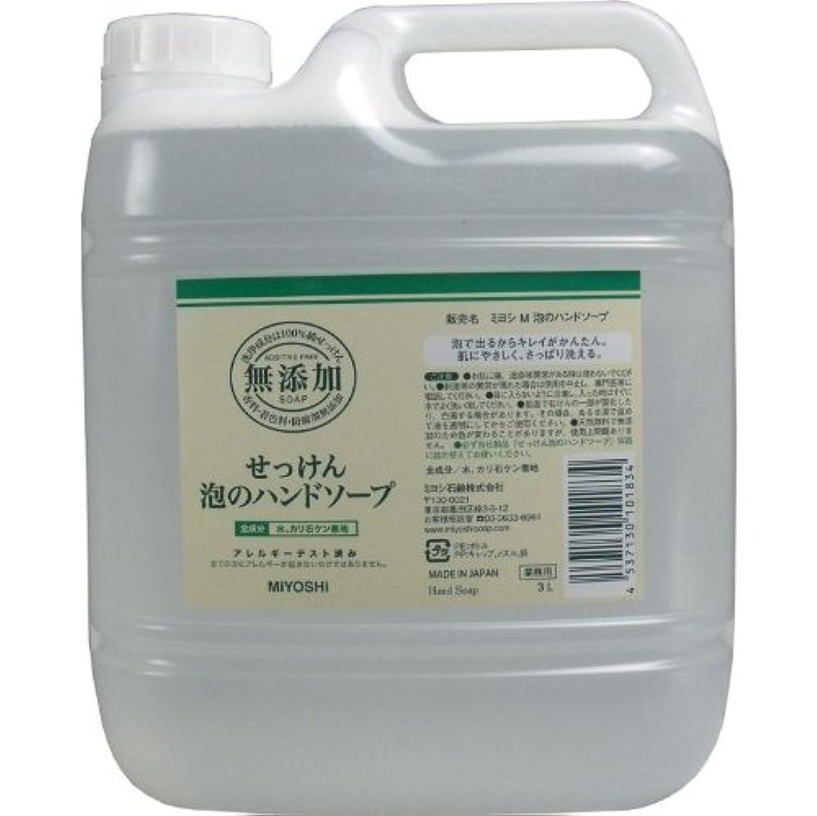 影のある臭いシーボード泡で出るからキレイが簡単!家事の間のサッと洗いも簡単!香料、着色料、防腐剤無添加!(業務用)3L【4個セット】