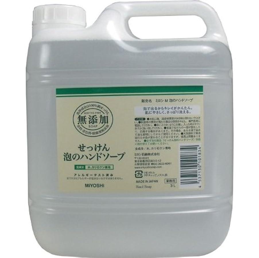 ばか安いです充電泡で出るからキレイが簡単!家事の間のサッと洗いも簡単!香料、着色料、防腐剤無添加!(業務用)3L【4個セット】