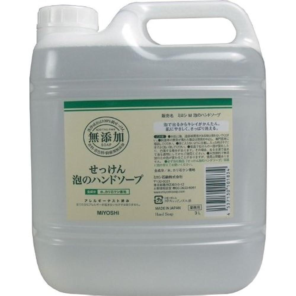 プランテーションあご役に立たない泡で出るからキレイが簡単!家事の間のサッと洗いも簡単!香料、着色料、防腐剤無添加!(業務用)3L【3個セット】