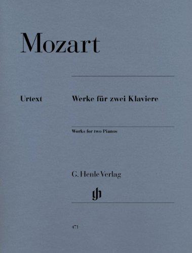モーツァルト: 2台のピアノのための作品集/ヘンレ社/原典版...