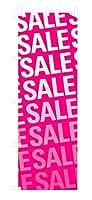 デザインのぼりショップ のぼり旗 2本セット SALE セール 専用ポール付 レギュラーサイズ(600×1800) 標準左チチテープ SAL019