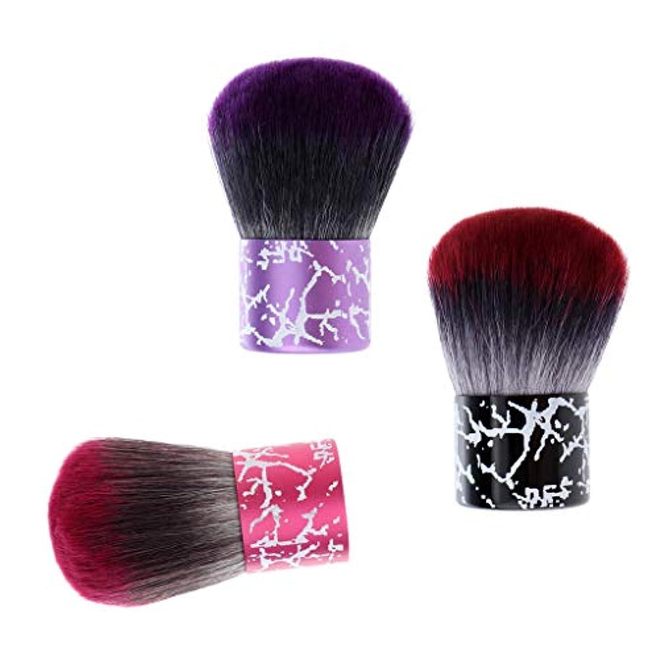 独占まあエアコンSM SunniMix 毛払いブラシ ヘアブラシ 3個入り 散髪 髪切り 散髪用ツール 床屋 理髪店 美容院 ソフトブラシ