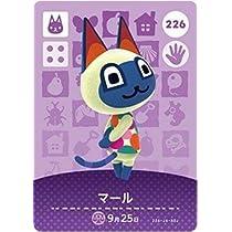 どうぶつの森 amiiboカード 第3弾 マール No.226