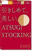 ATSUGI(アツギ) ATSUGI STOCKING(アツギ ストッキング) 引きしめて、美しい。 お腹ゆったりJサイズ 〈3足組〉 ウィメンズ FP88013P ブラック JM~L (日本サイズ3L相当)