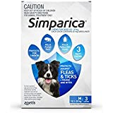Simparica Dog Flea & Tick Treatment, 3pk