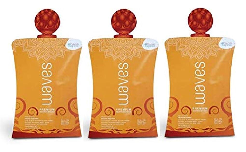 ちなみにスキャンダラス哀れなFLORISH FRAGRANCE Waves Orange Incense Sticks Pack of 3 (140 Gm Each)