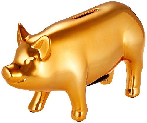 PIG OBJET BANK S Gold