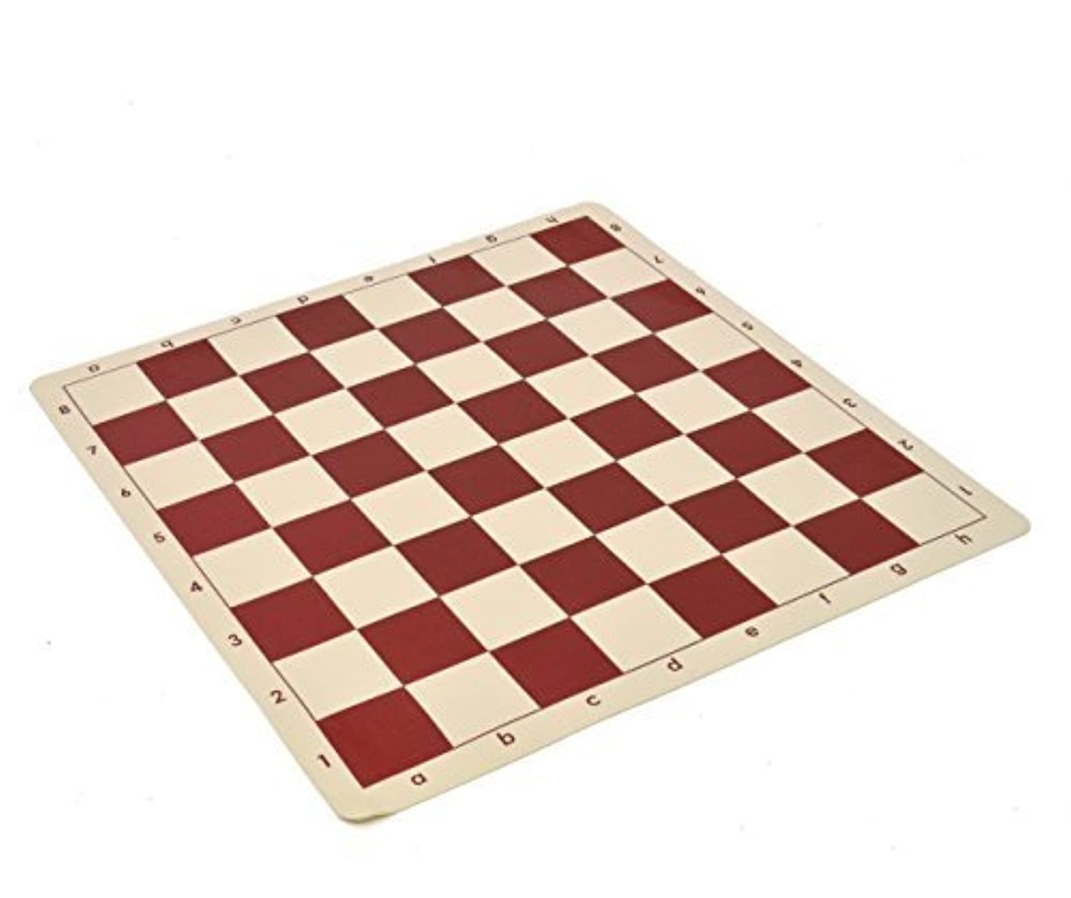 King Wholesale Chess Archer Chess Set Combo - Red Base with Black Canvas Bag