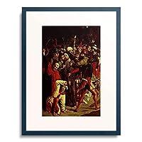 ディルク・ボウツ 「The arrest of Christ.」 額装アート作品