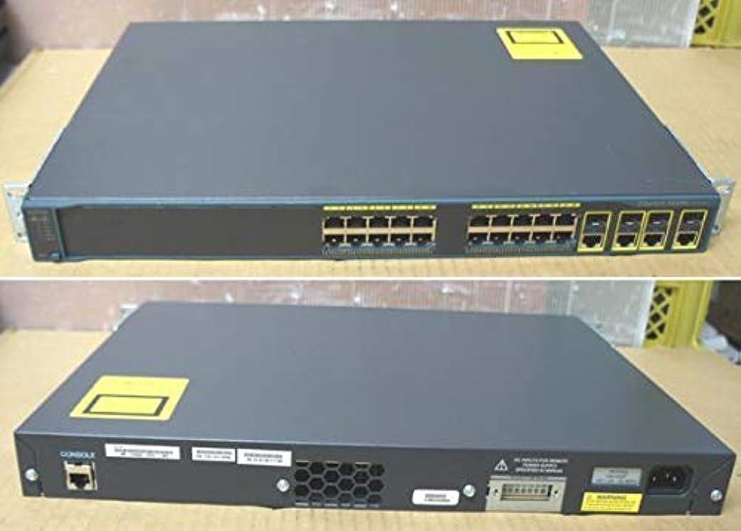 サラミ混沌炎上[中古][ギガビット対応][24ポート] シスコ/Cisco 1000Base-T*24port スイッチ Catalyst 2960G-24 (WS-C2960G-24TC)[秋葉原]《パソコン販売 アキバパレットタウン》