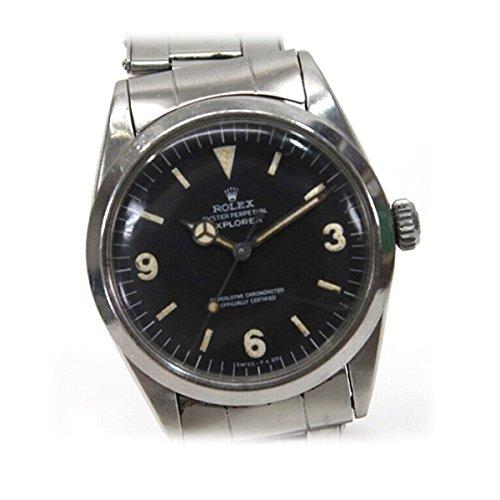 ROLEX(ロレックス) エクスプローラーI 前期モデル 初期リベットブレス 自動巻 SS メンズ腕時計 1016 1965年製 アンティーク KK [中古]