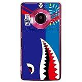 YESNO シャーク ブルー (クリア) / for LUMIX Phone 101P/SoftBank SPS101-PCCL-201-N073