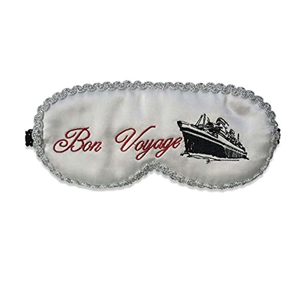 免疫マッシュ飾る白いラブリースタイルのデザインソフトシルクスリープアイマスクカバー