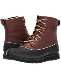 SOREL(ソレル) メンズ 男性用 シューズ 靴 ブーツ レインブーツ Madson 1964 Waterproof - Elk/Black [並行輸入品]