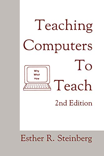 Teaching Computers To Teach (English Edition)