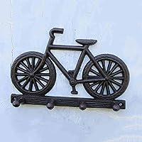LXY ヨーロピアンとアメリカン レトロ 錬鉄 自転車 装飾 フック 壁掛けフック