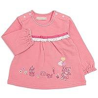 coeur a coeur (クーラクール) 長袖Tシャツ (70~100cm) キムラタンの子供服 (44301-193) ピンク 80