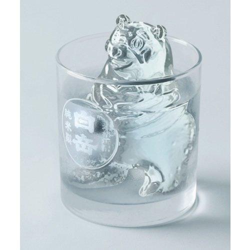 白岳 くまモンの製氷器ギフトセット(グラス付) TS-G2