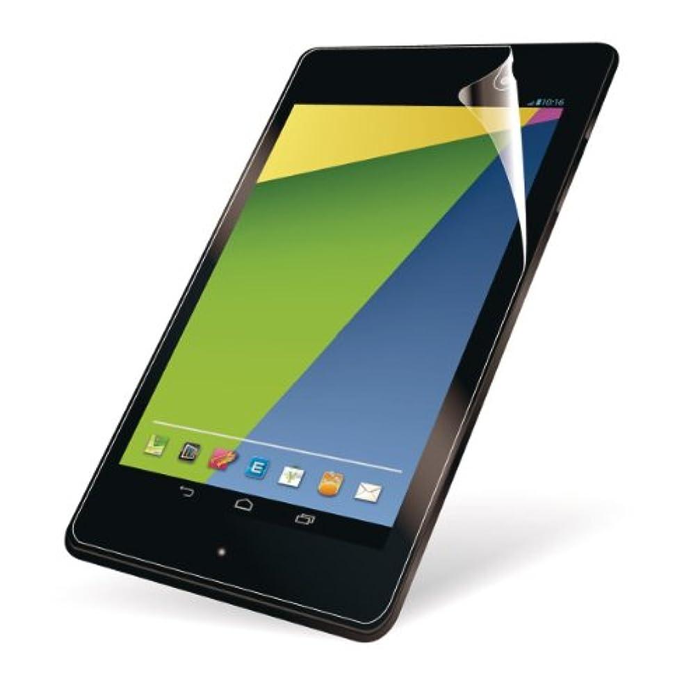 極貧革命的限界エレコム 新型Nexus7(2013年モデル)対応 液晶保護フィルム 防指紋エアーレス 光沢 TB-ASNXAFLFANG