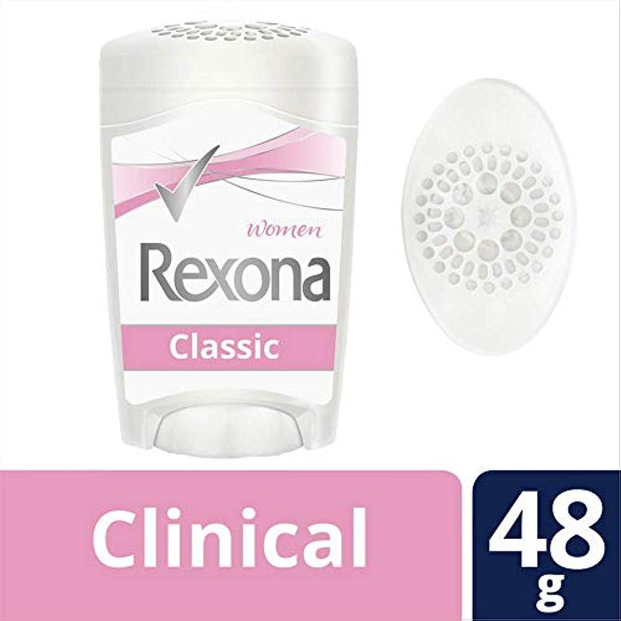 教えて資本主義陰謀Rexona Woman Clinical レクソーナウーマン クリニカル デオドラント 48g