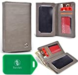 Apple iPhone 5 Wallet phone holder with OPAQUE front view window _UNIVERSAL_ in ORANGE AND GREEN *CANTELOUPE* おもちゃ (並行輸..