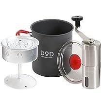 DOD(ディーオーディー) ラーメン、コーヒー、そして俺 ツーリング パーコレータセット RC1-468