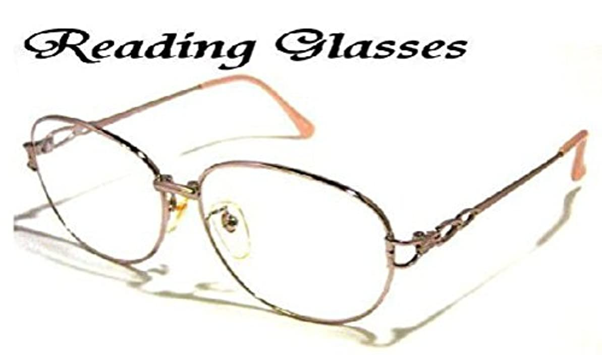 お洒落な女性用シニアグラス老眼鏡(807CL) (+3.25)