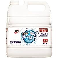 【業務用 大容量】トップ スーパーナノックス 洗濯洗剤 液体 4Kg