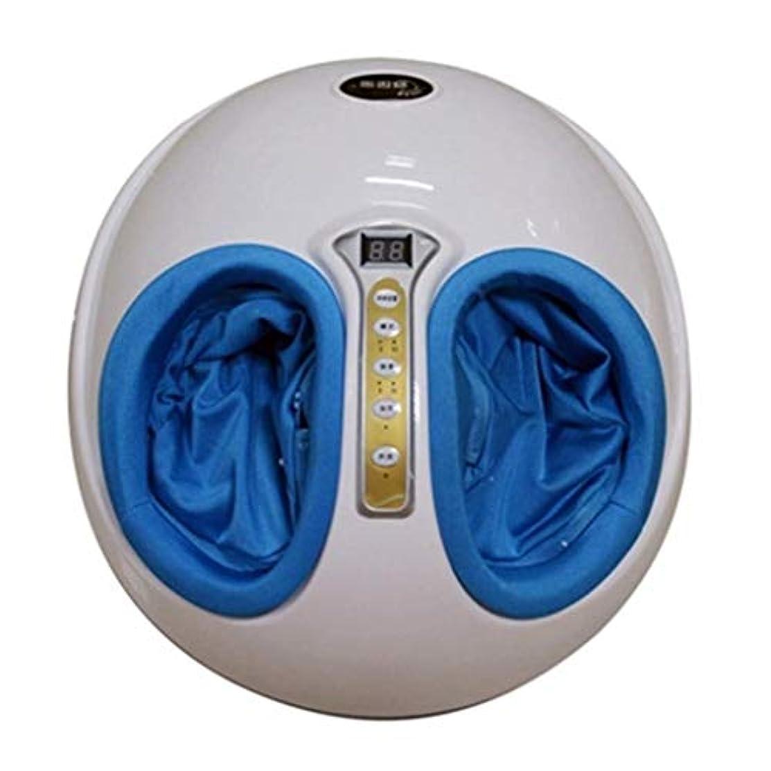 簡単なリップ年金フットマッサージャー、電動マッサージャー、3D指圧Pressureみマッサージ/加熱、赤外線フットケアマシン、減圧とリラクゼーション療法、痛みを和らげ、血液循環を促進