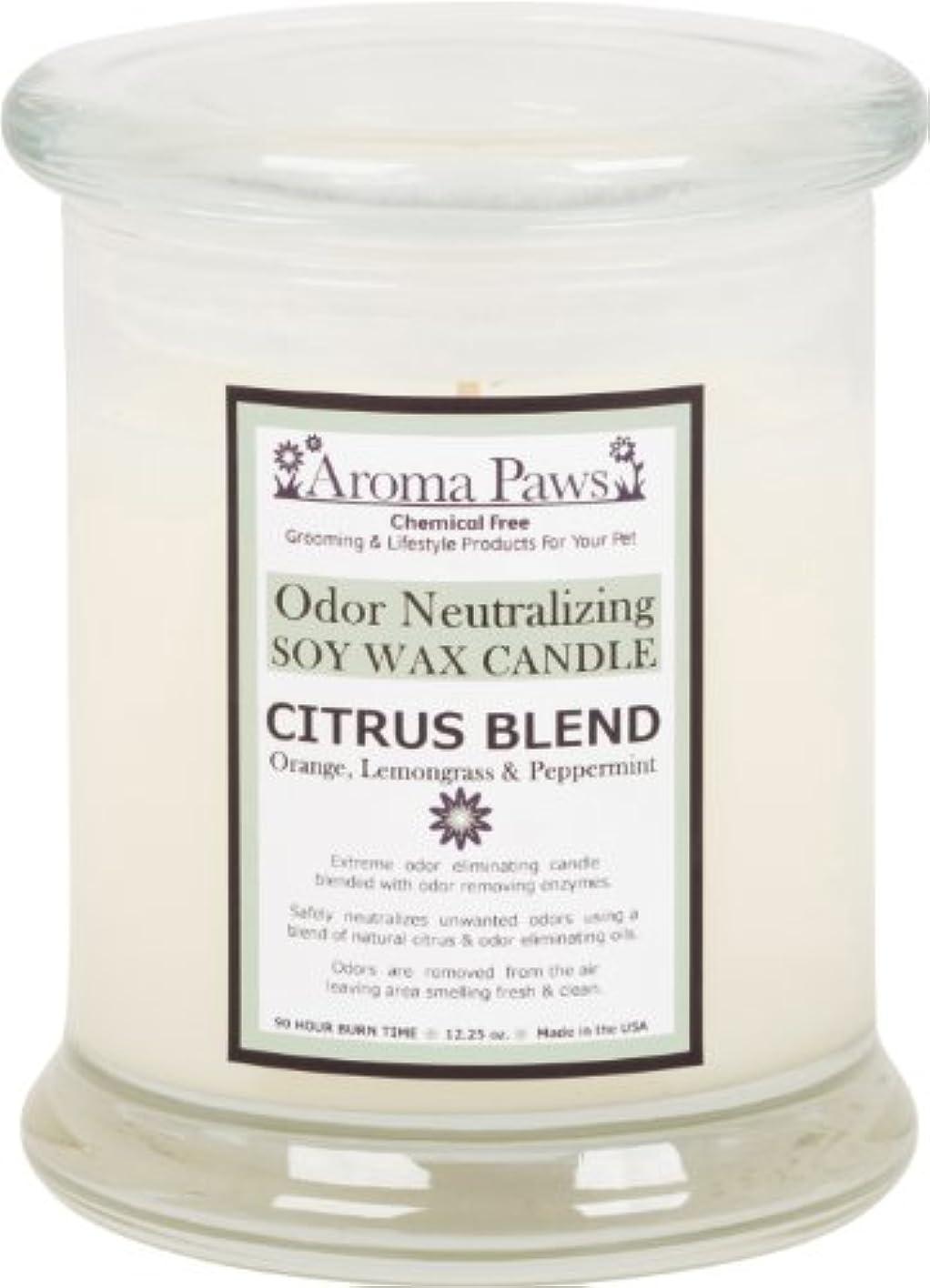 怠な食い違い推定Aroma Paws Odor Candle, 12-Ounce, Citrus by Aroma Paws