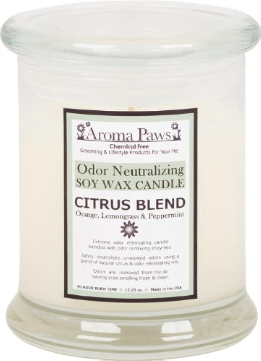 オピエートスクレーパー魅惑するAroma Paws Odor Candle, 12-Ounce, Citrus by Aroma Paws