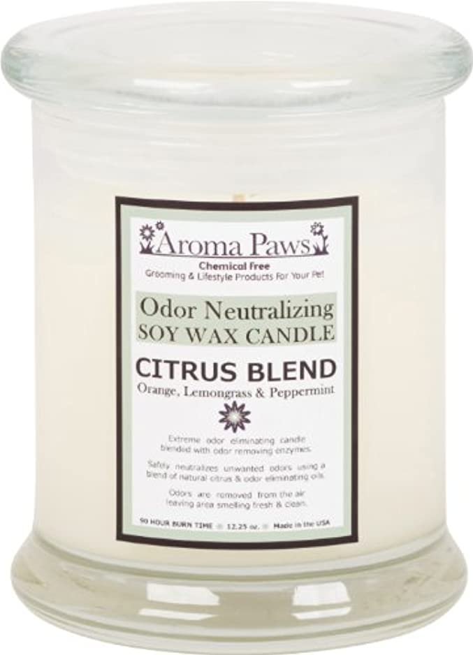 Aroma Paws Odor Candle, 12-Ounce, Citrus by Aroma Paws
