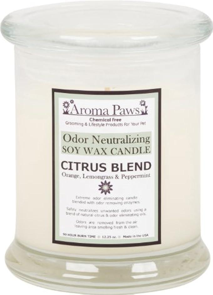 伝統的仲間知覚的Aroma Paws Odor Candle, 12-Ounce, Citrus by Aroma Paws