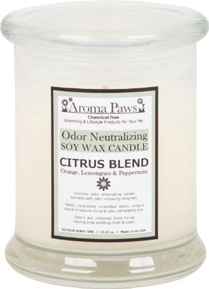 出演者スマイル多様なAroma Paws Odor Candle, 12-Ounce, Citrus by Aroma Paws