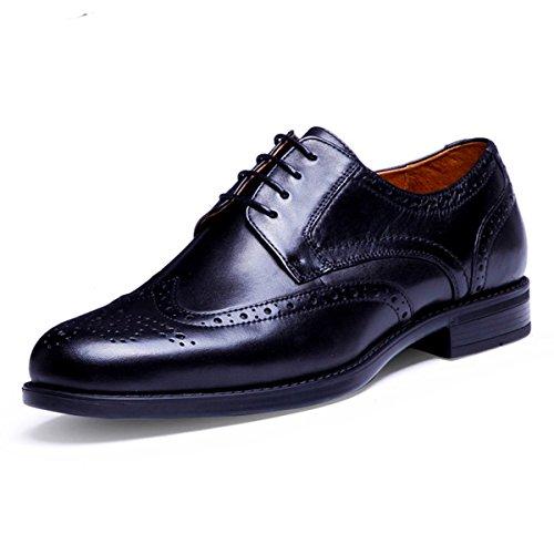 (デザート)Dessert ビジネスシューズ 紳士靴 メンズ 本革 ブラック 26.5CM