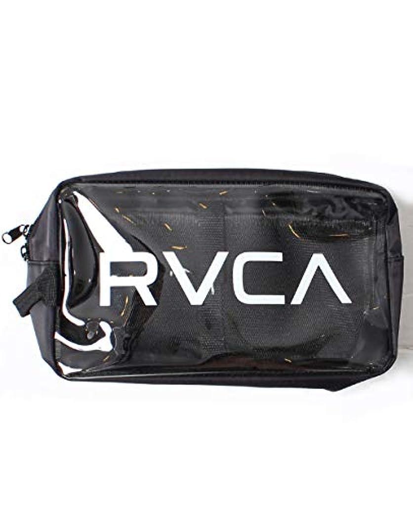 現金寝てる有限RVCA ルーカ クリアポーチ バッグインバッグ フェス メンズ レディース かばん 化粧ポーチ ストリート AJ041-M91