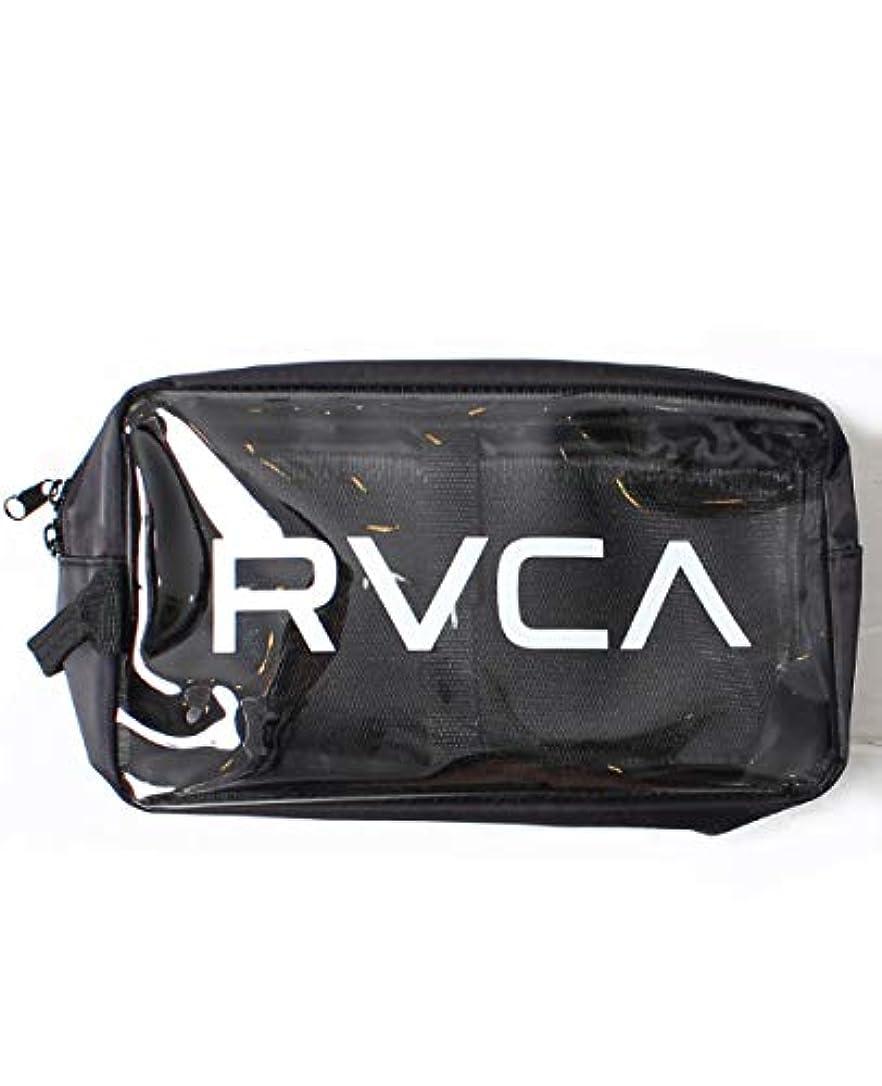 交響曲氏きらきらRVCA ルーカ クリアポーチ バッグインバッグ フェス メンズ レディース かばん 化粧ポーチ ストリート AJ041-M91